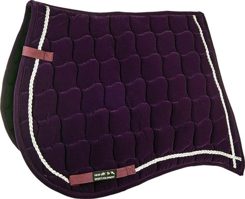 velvet saddle pad