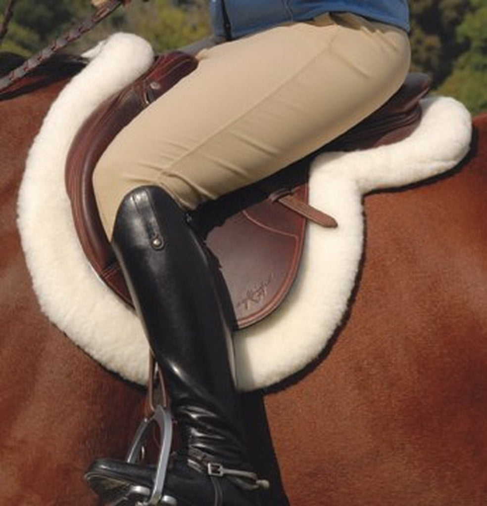 Faux Sheepskin Hunter Pad - HorseCare Shop