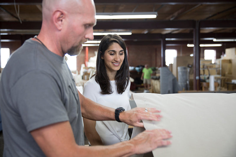 The Millennial Behind Maiden Home Wants To Make Custom American-Made Furniture Affordable