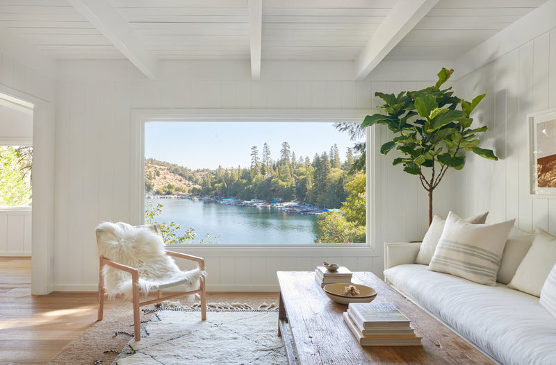Home Tour | The Perfect California Lake House in Partnership with Jenni Kayne
