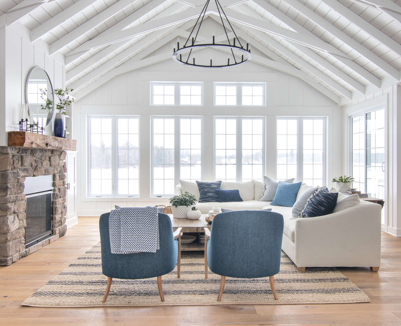 Home Tour | Step Inside the Lilypad Cottage's Gorgeous Living Room Redesign