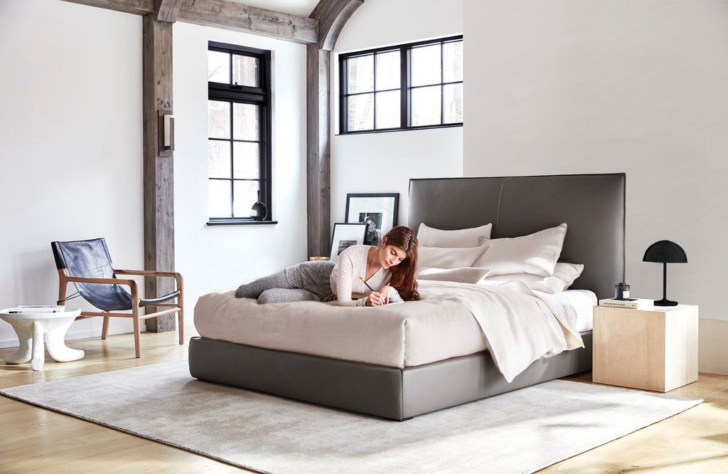 The Wythe Bed by Maiden Home. Custom luxury furniture for your home.