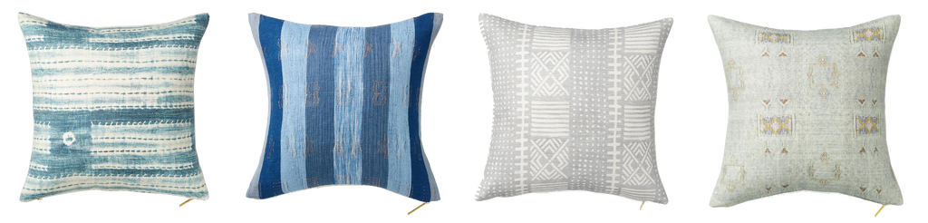 Discover Maiden Home's tips and tricks for summer decor including the best sources for summery accent throw pillows