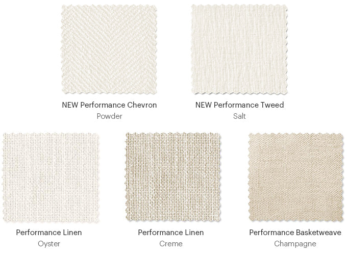 Maiden Home White Performance Fabrics