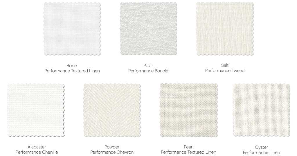 The White Fabric Collection