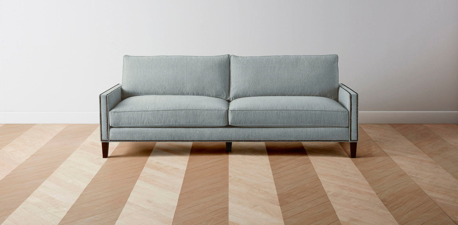The Irving  - Performance Weave Mist L Sectional