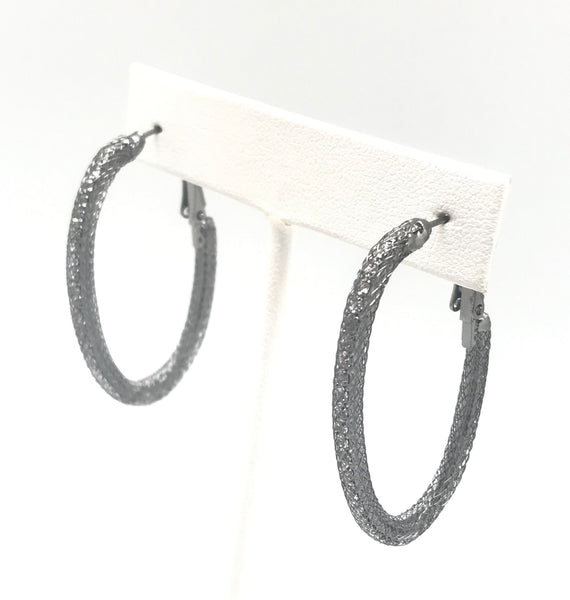 Caged Oxidized Hoop