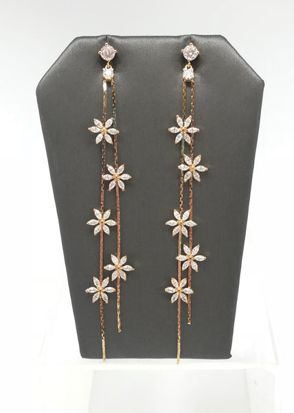 Falling Flower Earrings