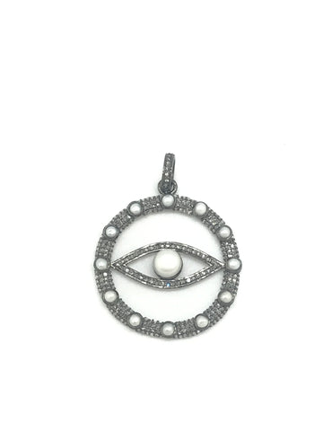 Diamond And Pearl Evil Eye