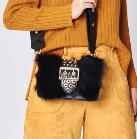 Fox Fur Purse