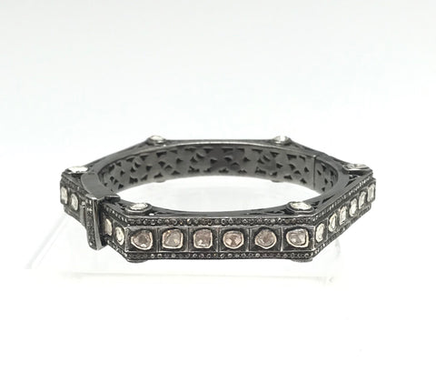Hexagon Diamond Bracelet