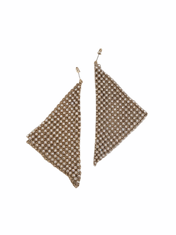 Statement Handkerchief Earring