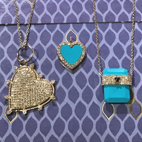 14 K Turquoise Collection