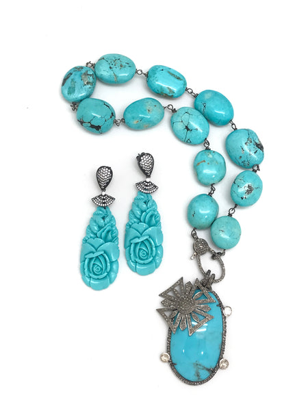 Chunky Turquoise Collection