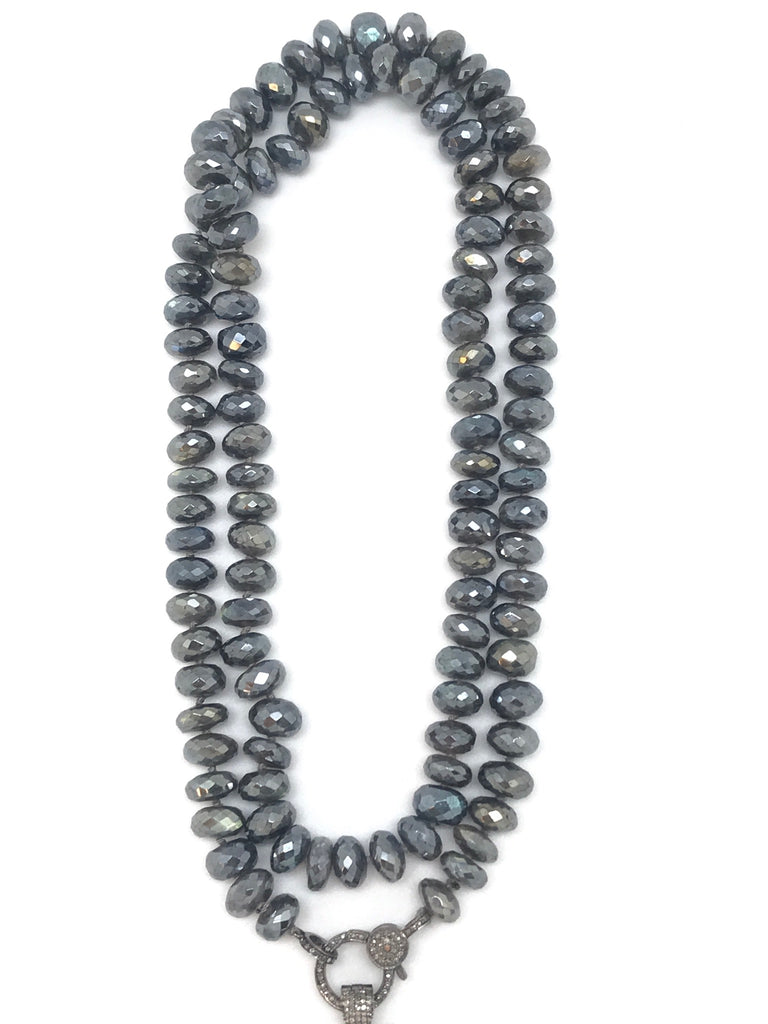 Grey Pearl And Diamond Collection