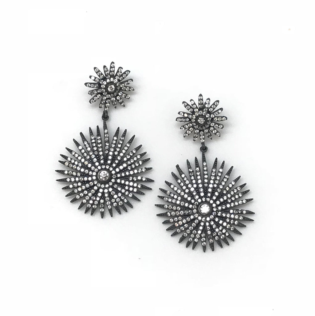 Double Starburst Earring