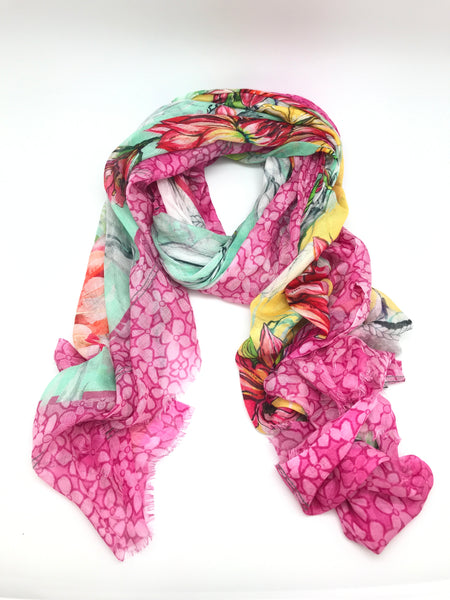 Bright Silk Scarves