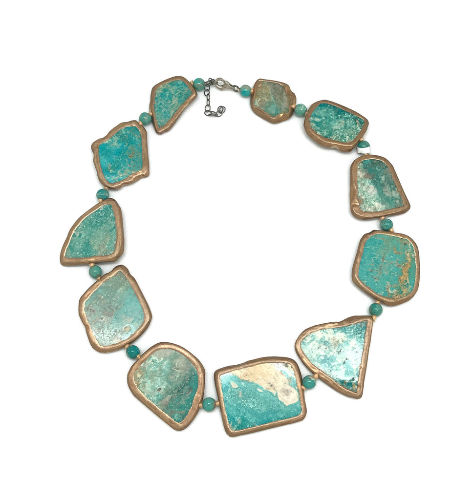 Large Turquoise Necklaces