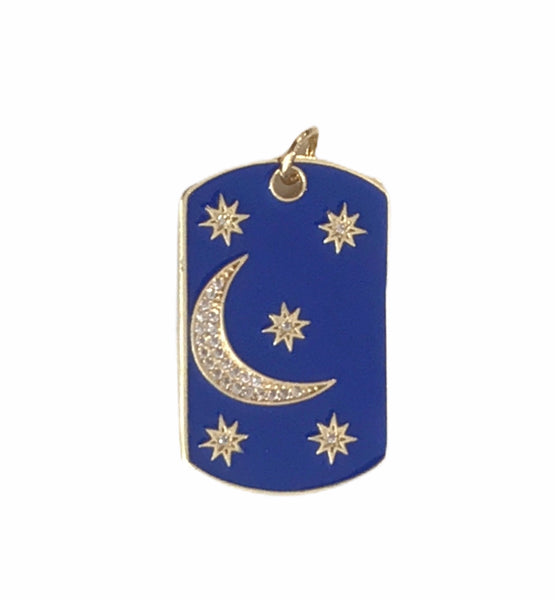 Moon And Star Charm