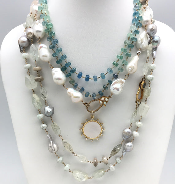 Ocean Blue And Pearl Collection