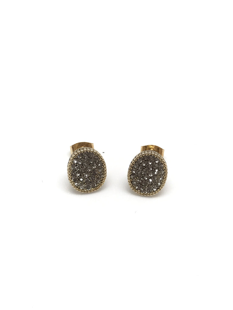 Antique Gold Stud
