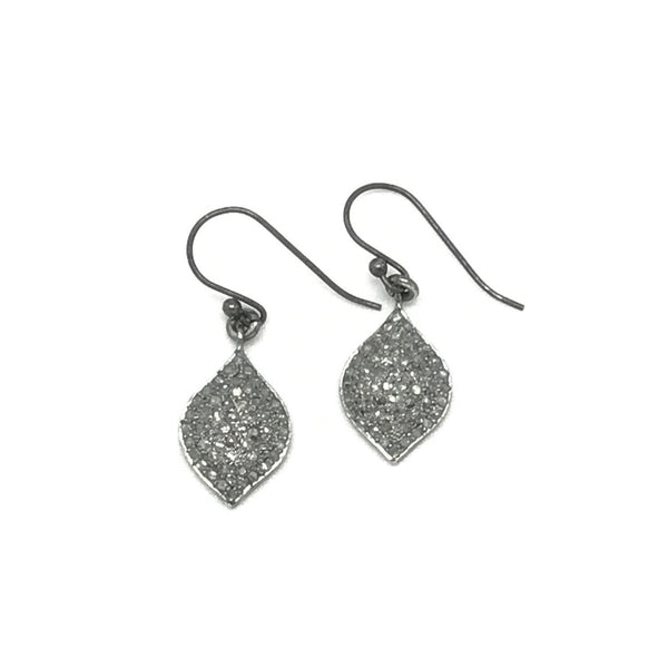 Diamond Leaf Earring