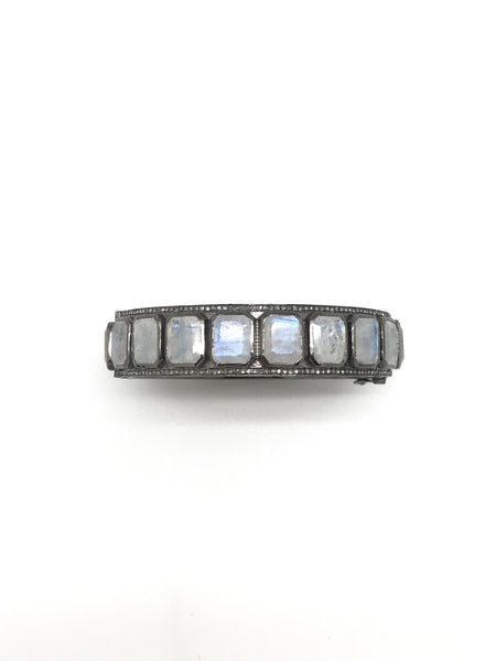 Modern Diamond Bangle
