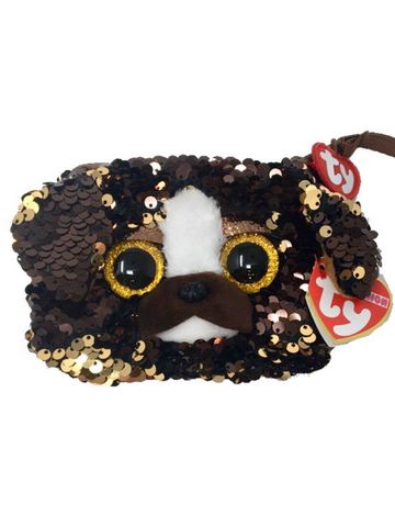 Sequin Wristlet Brutus Dog