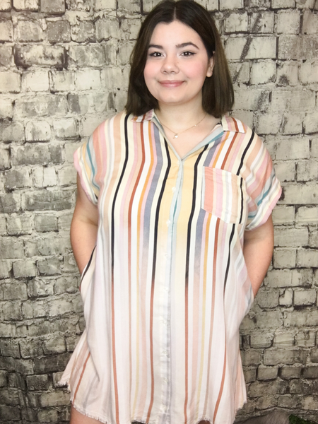 shop women's and girls' clothing clothes apparel gifts accessories jewelry online or in store at boerne pixie boutique | a favorite of locals and san antonio visitors too | best boerne boutiques | button shirt dress plus