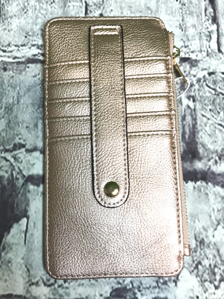 rose gold credit card wallet | shop women's clothing clothes apparel accessories jewelry and gifts online or in store at boerne pixie boutique | a favorite of locals and san antonio visitors too