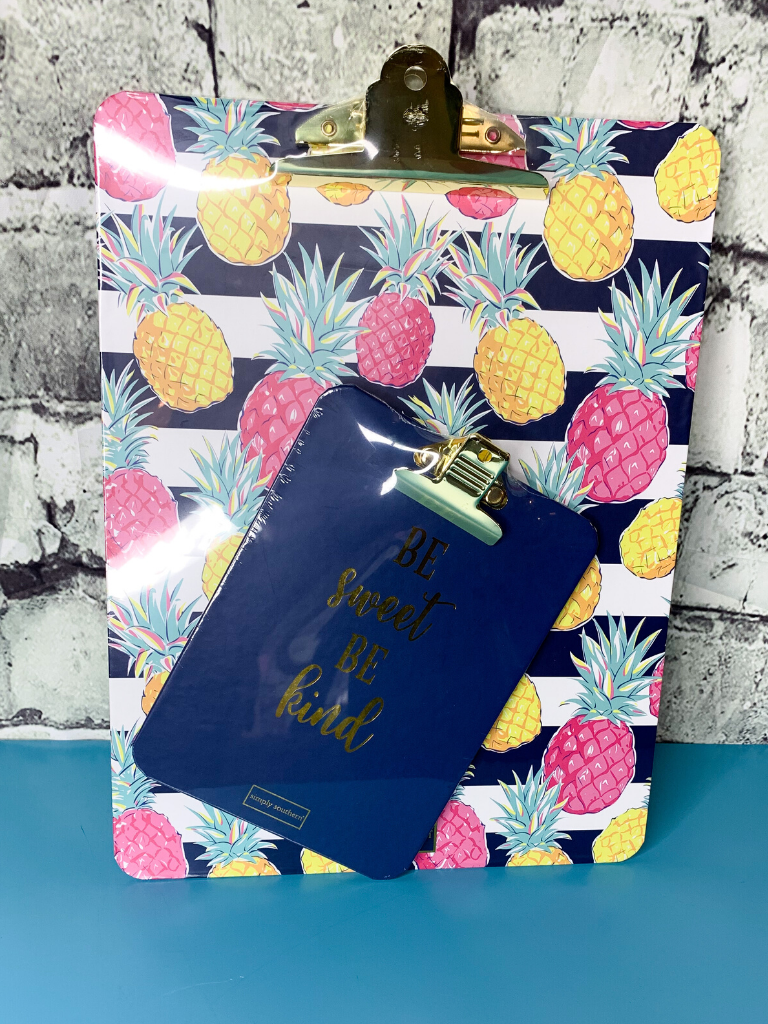 pineapple clipboard set simply southern | shop women's clothing clothes apparel accessories and gifts online or in store at boerne pixie boutique | a favorite of locals and san antonio visitors too