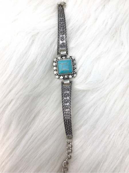 silver turquoise bracelet cuff | shop women's clothing clothes apparel accessories and gifts online or in store at boerne pixie boutique | a favorite of locals and san antonio visitors too
