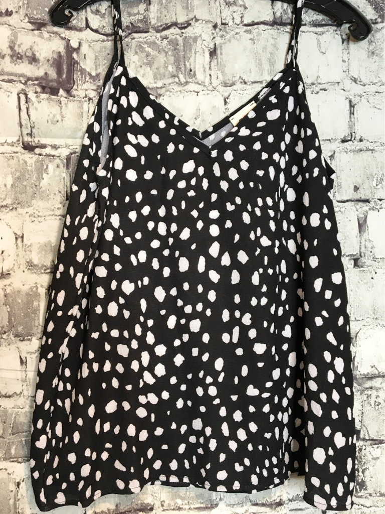 dalmatian print top shirt blouse tank | shop women's clothing clothes apparel online or in store at boerne pixie boutique | a favorite of locals and san antonio visitors too