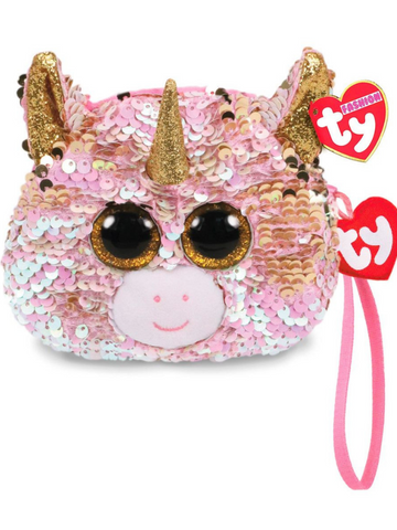 Sequin Wristlet Fantasia Unicorn
