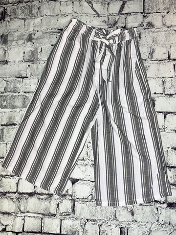 gray cropped striped pants lounge beachwear dress pants | shop women's clothing clothes apparel accessories and gifts online or in store at boerne pixie boutique | a favorite of locals and san antonio visitors too