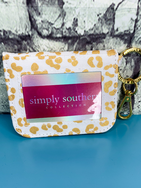 leopard print simply southern id wallet purse handbag clutch | shop women's clothing clothes apparel accessories and gifts online or in store at boerne pixie boutique | a favorite of locals and san antonio visitors too