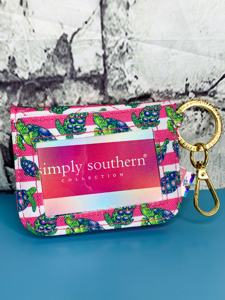 turtle print simply southern id wallet purse handbag clutch | shop women's clothing clothes apparel accessories and gifts online or in store at boerne pixie boutique | a favorite of locals and san antonio visitors too