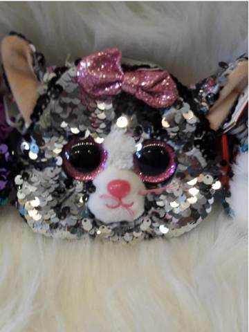 Sequin Wristlet Kiki Cat