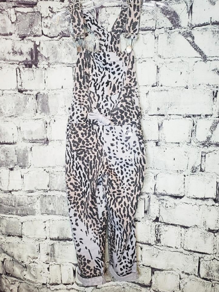 girls kids youth leopard print overalls jumpsuit | shop girls clothing clothes apparel accessories and gifts online or in store boerne pixie boutique | a favorite of locals and san antonio visitors too