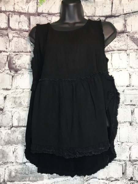 shop women's and girls' clothing clothes apparel gifts accessories jewelry online or in store at boerne pixie boutique | a favorite of locals and san antonio visitors too | best boerne boutiques | linen tank black