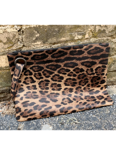 Leopard Clutch - 3 Colors!