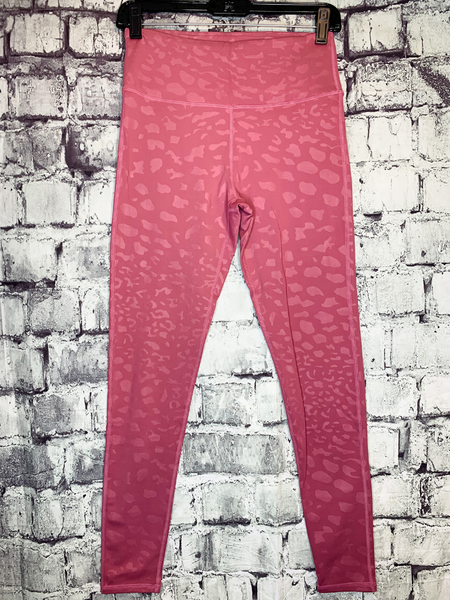 mauve pink leopard print leggings tights pants yoga | shop women's clothing clothes apparel accessories jewelry and gifts online or in store at boerne pixie boutique | a favorite of locals and san antonio visitors too
