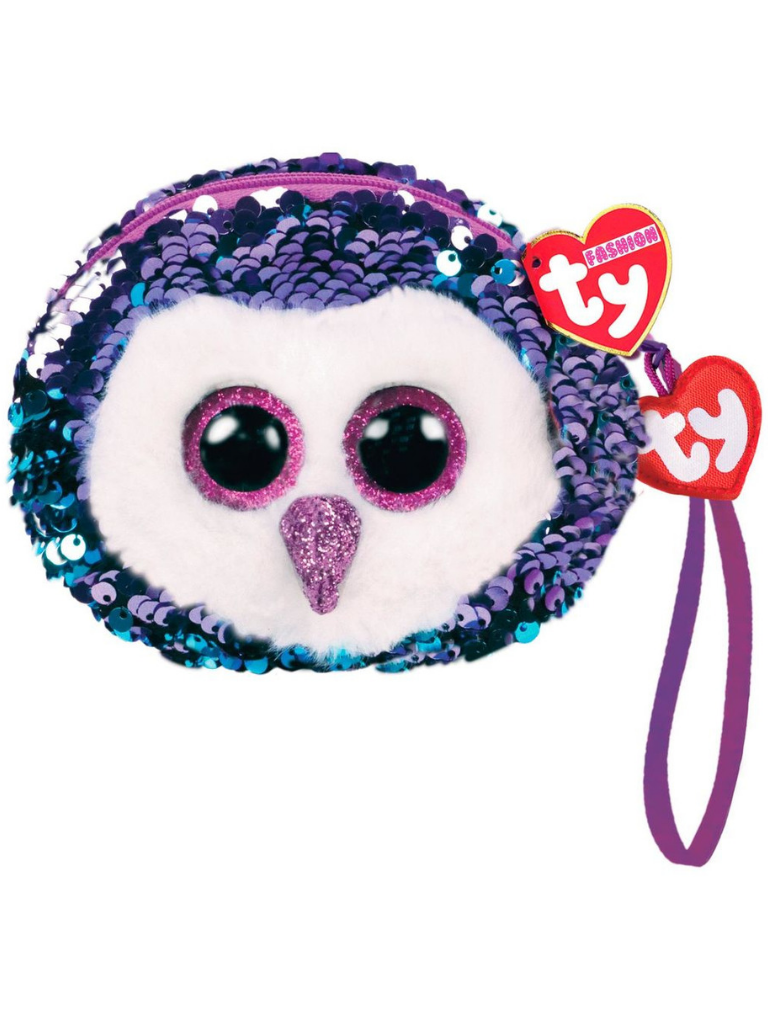 Sequin Wristlet Moonlight Owl