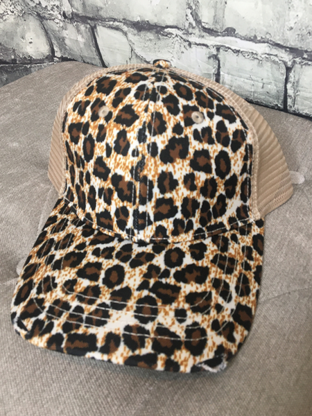 leopard print country cruisin' cap hat baseball cap | shop women's clothing clothes apparel online or in store at boerne pixie boutique | a favorite of locals and san antonio visitors too