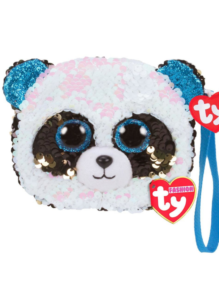 sequin wristlet bamboo panda kids baby girls toddler clothing accessories purse bag boerne pixie boutique shop online or in store