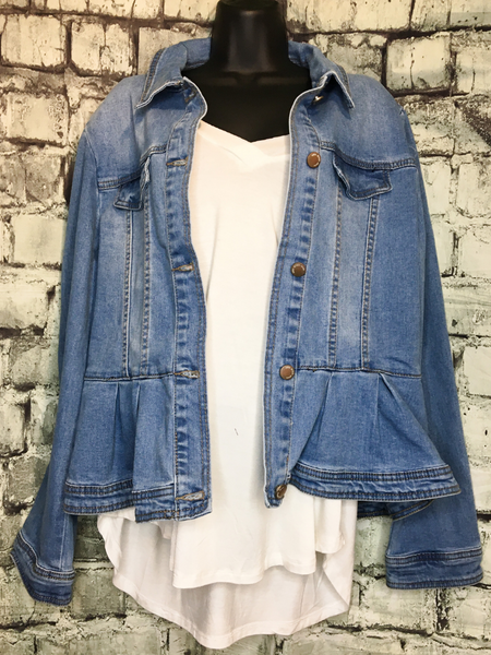 shop women's and girls' clothing clothes apparel gifts accessories jewelry online or in store at boerne pixie boutique | a favorite of locals and san antonio visitors too | best boerne boutiques | jean jacket white top