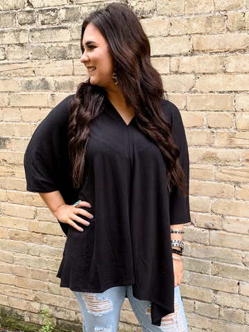 The Poncho - Plus Size - 3 Colors!