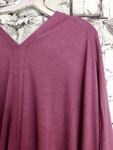 red burgundy wine poncho plus size v nect women's clothing apparel clothes boerne pixie boutique shop online or in store