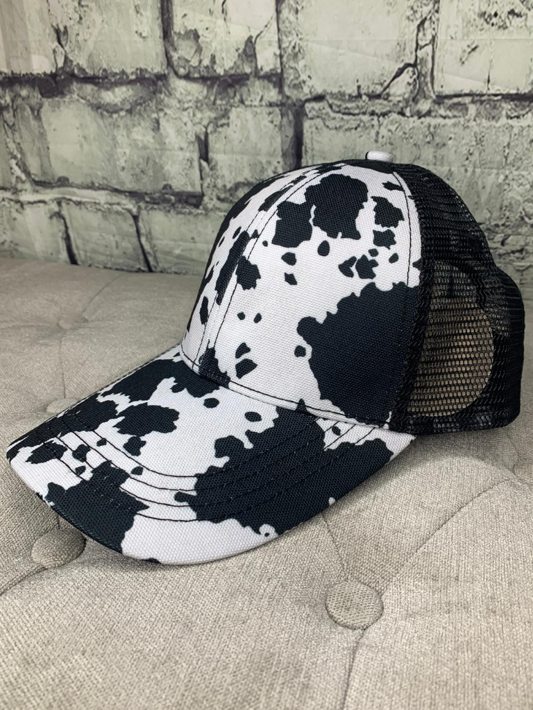 cow print country cruisin' cap hat baseball cap | shop women's clothing clothes apparel online or in store at boerne pixie boutique | a favorite of locals and san antonio visitors too