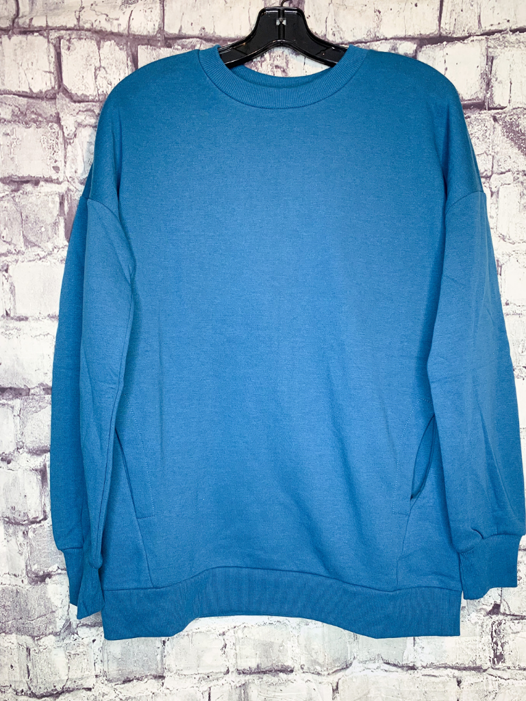 cozy crew neck oversized over sized sweatshirt top shirt blouse | shop women's clothing clothes apparel accessories and gifts online or in store at boerne pixie boutique | a favorite of locals and san antonio visitors too
